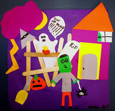 halloween craft k 8 art