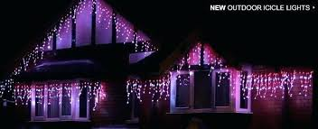 snowing icicle outdoor lights premier 360 led outdoor snowing icicle lights best of purple and