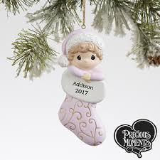personalized precious moments ornament for baby gifts