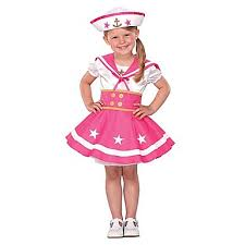 Infant Girls Halloween Costumes Baby U0027s Sailor Sweeter Halloween Play Costume 2 4 Yrs