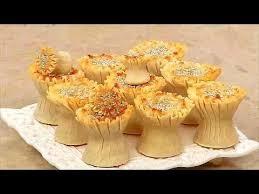 la cuisine alg駻ienne samira gàteau knidlat qnidlat recette facile la cuisine algérienne