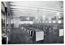 Titanic First Class Dining Room On The Water Ocean Crossings 1870 1969 Comfort Courtesy