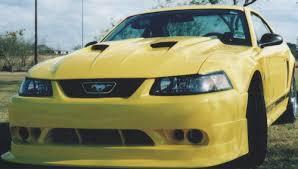 99 mustang bumper 99 04 mustang cobra r 2000 front bumper urethane free