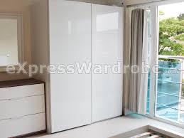 Glass Wardrobe Doors Doors Ikea Uk U0026 Accordion Doors Ikea U0026 Uggdal Pair Of