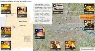 timeline maps riots timeline and map of violence