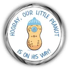 peanut baby shower peanut baby shower hershey kisses stickers peanut boy