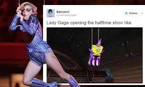 Lady Gaga Memes - lady gaga trying to outdo spongebob artist gets rave reviews for