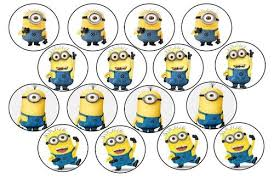 minions cake toppers minion template printable cake decorating despicable me edible