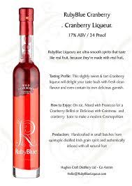 cosmopolitan bottle rubyblue premium irish liqueur bottles gift pack 2 x 35 cl