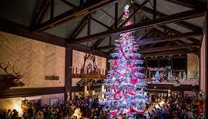 tenaya lodge annual tree lighting ceremony tenaya lodge at yosemite