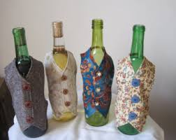 how to decorate a wine bottle for a gift wine accessories etsy