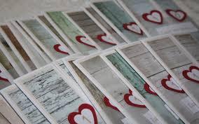1 jã hriger hochzeitstag einladungskarten 10 jähriger hochzeitstag papier feder