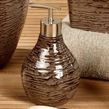 Birch Reflections Stoneware Bath Accessories