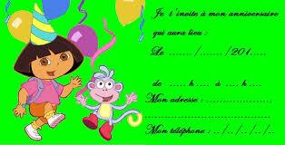 dora invitations birthday templates