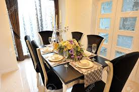 dining room in luxury home with french doors stock photo picture dining room in luxury home with french doors stock photo 13536870