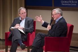 George H W Bush Date Of Birth George W Bush Talks With His Dad U0027s Biographer About Influence In