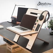 Schreibtisch Computer Standsome Worklifestyle Stehschreibtisch Standsome Slim Wood