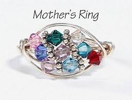 grandmother s ring 9 grandmother s birthstone ring personalized sterling silver