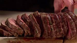 Ina Garten Roast Beef Slow Roasted Filet Of Beef And Basil Parmesan Mayonnaise Recipe