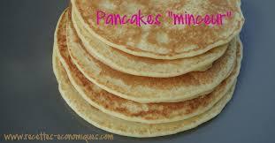 cuisine minceur thermomix pancakes minceur ou pancakes légers sans beurre recettes de