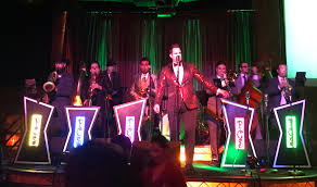 review phat cat swinger plays to a packed house at the edison