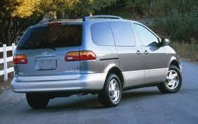 toyota minivan 1999 toyota sienna information and photos zombiedrive