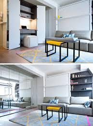 small apartment design idea create a home office in a closet