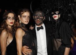 Masquerade Ball Halloween Costumes Masks French Vogue Party Masquerade Ball Natalia