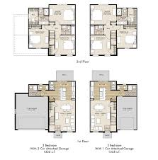house plans with apartment attached floor plans the ridge at chestnut hill