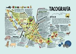 Maps Of Mexico Large Detailed Tacografia Illustrated Map Of Mexico Mexico