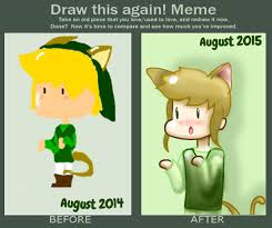 Meme Kitty - draw this again meme kitty link by purpleflowersong on deviantart