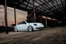 stanced volkswagen beetle new vw beetle mk2 slammed down to the ground