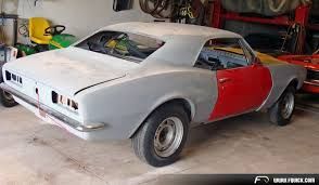 rebuilt camaro for sale 1967 camaro project car shell totally stripped to bare metal title