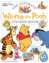 amazon winnie pooh coloring book stickers 96