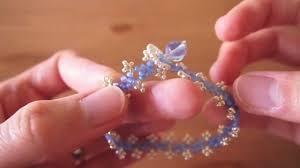 easy beaded bracelet tutorial youtube
