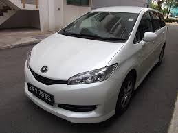 toyota family car rent a toyota wish 1 8 x mpv by ace drive car rental