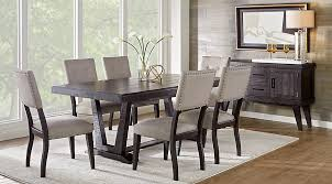 hill creek black 5 pc rectangle dining room dining room sets black