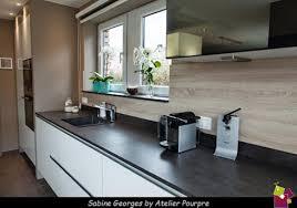 cuisine pourpre aménagement séjour cuisine et par atelier pourpre design