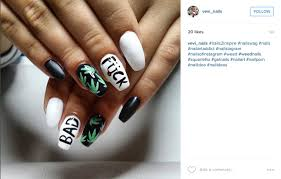 31 marijuana inspired manicures that will make you want weednails