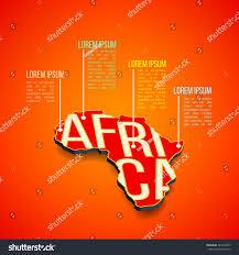 3d africa map vector vector africa infographics design africa map stock vector