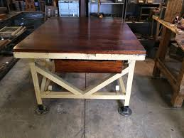 island industrial kitchen work table used commercial kitchen work island vintage industrial rustic table work bench halsey road recyclers kitchen used commercial tables