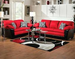 red leather sofa living room ideas red living room set living room furniture red red living room