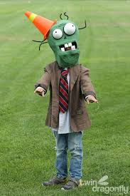Zombie Costume Plants Vs Zombies Costume Cone Head Zombie Dragonfly Designs