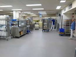 cuisine de collectivité cuisine de collectivité jessa hôpital devafloor revêtements de sol