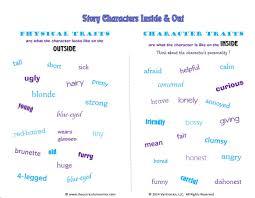 character traits primary mini lesson u0026 templates