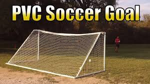 pvc soccer goal for under 150 youtube