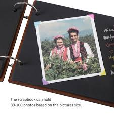 photo album that holds 1000 pictures farway diy photo album wood cover anniversary
