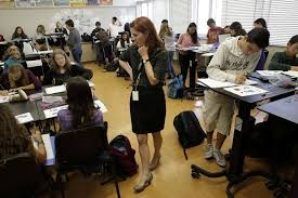 Standing Desks For Students Oakland Classroom Takes A Stand For Preventing Sedentary Students