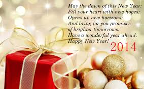 and new year wishes happy holidays