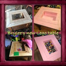 Lego Table With Storage For Older Kids Custom Lego Table 12 Steps With Pictures